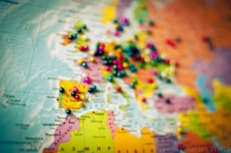 Mapa con pins