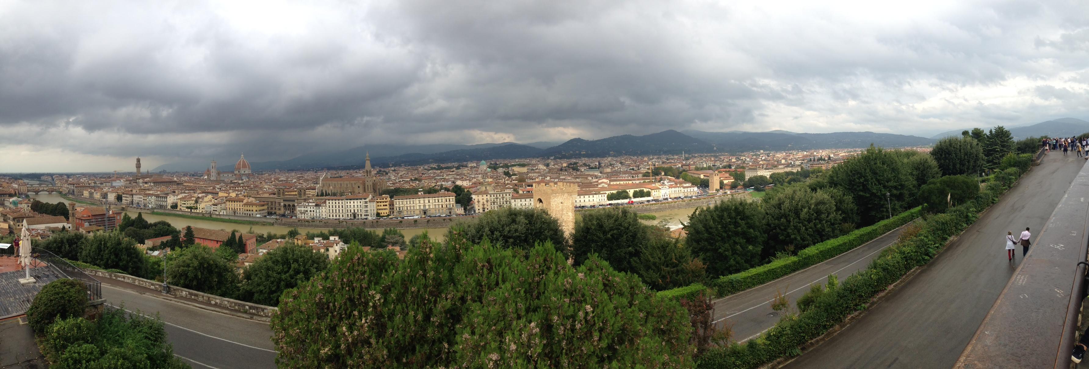 Florencia panorámica