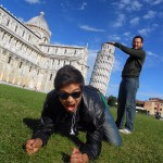 Diversión en Pisa